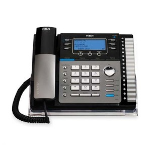 Business+Speaker+Phone,+6.0,+4-Line,+Expandable,+Black-Silver