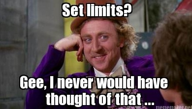 Set limits meme